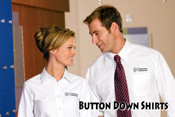 Your Company Branded Button Down Shirts