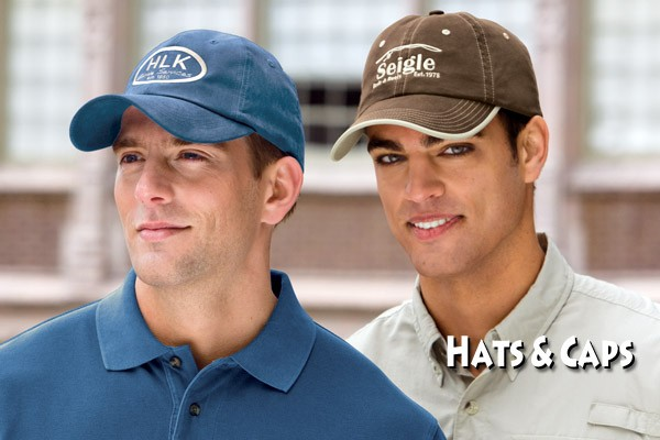 Get Your Company Logo on Hats & Caps